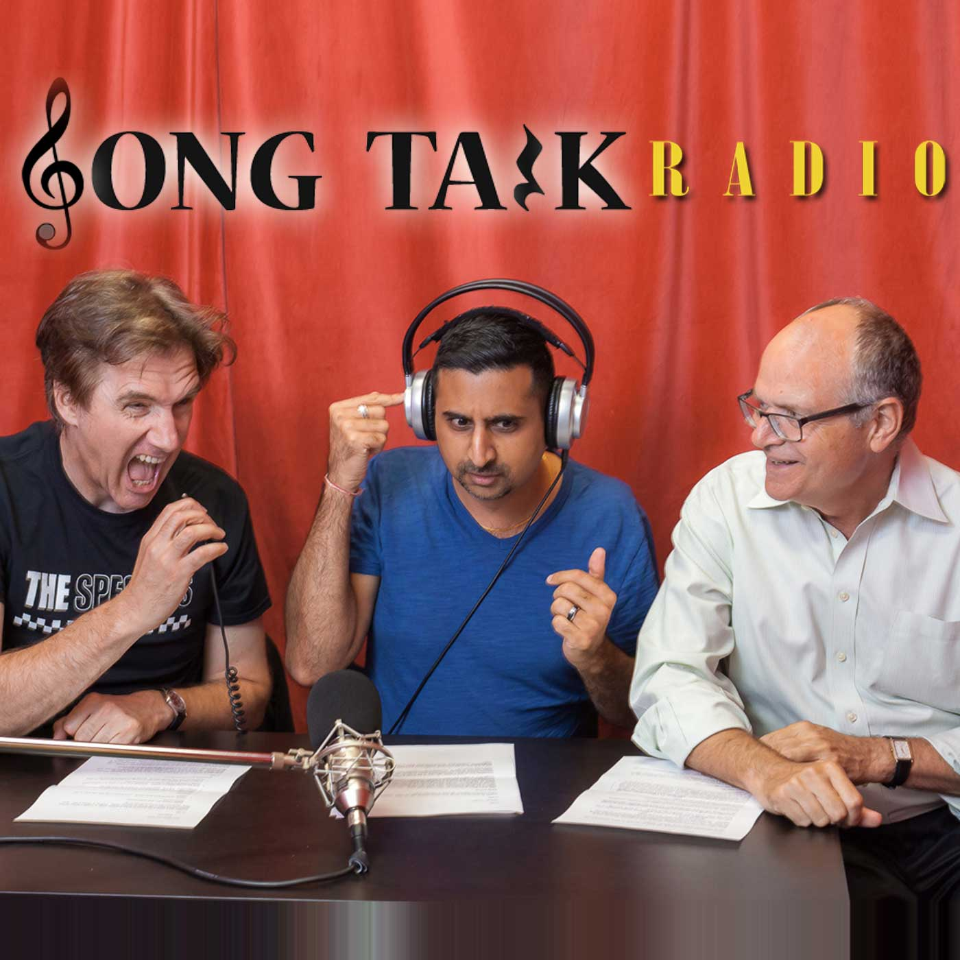 Song Talk Radio with Bruce, Neel & Phil | Songwriting | Lyrics | Arranging | Live Feedback